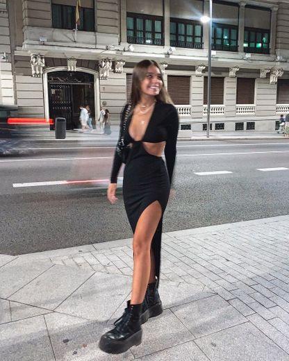 Klum Dress - Black