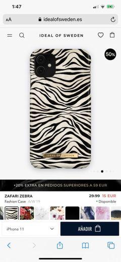 Funda zebra
