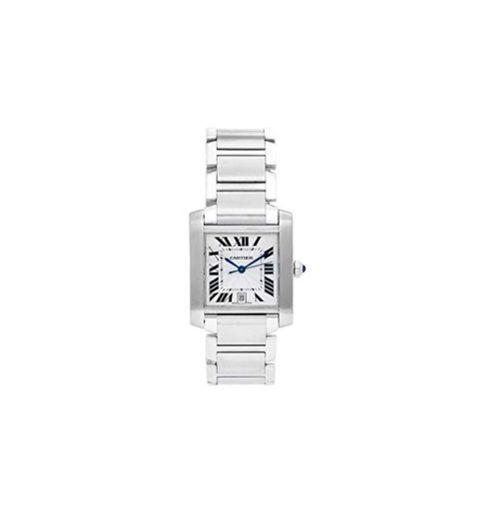 Cartier Tank Francaise Automatic-Self-Wind 2302 - Reloj de Pulsera para Hombre