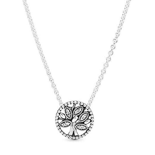 Pandora 397780CZ-45 Collar con Colgante para Mujer