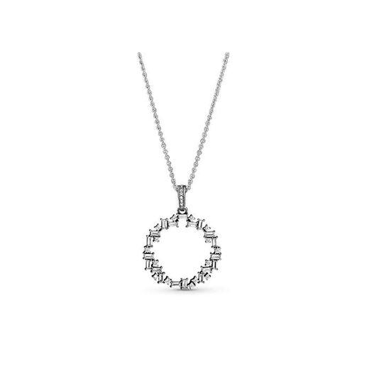 Pandora Collar con colgante Mujer plata