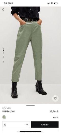 Pantalon efecto piel