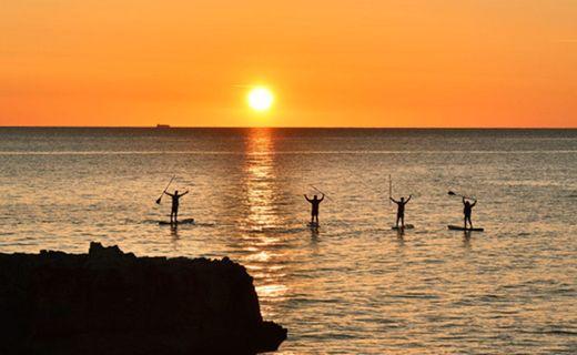 Excursión Paddle Surf Puesta de Sol zona Ciutadella